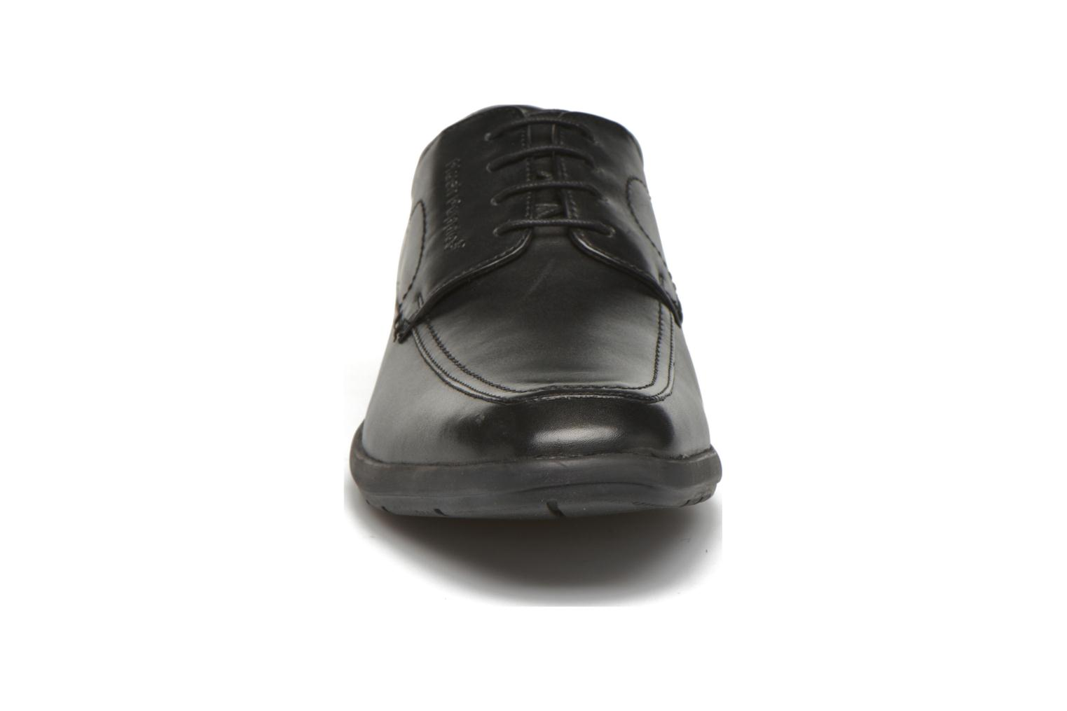 Lace-up shoes Hush Puppies Sam Black model view