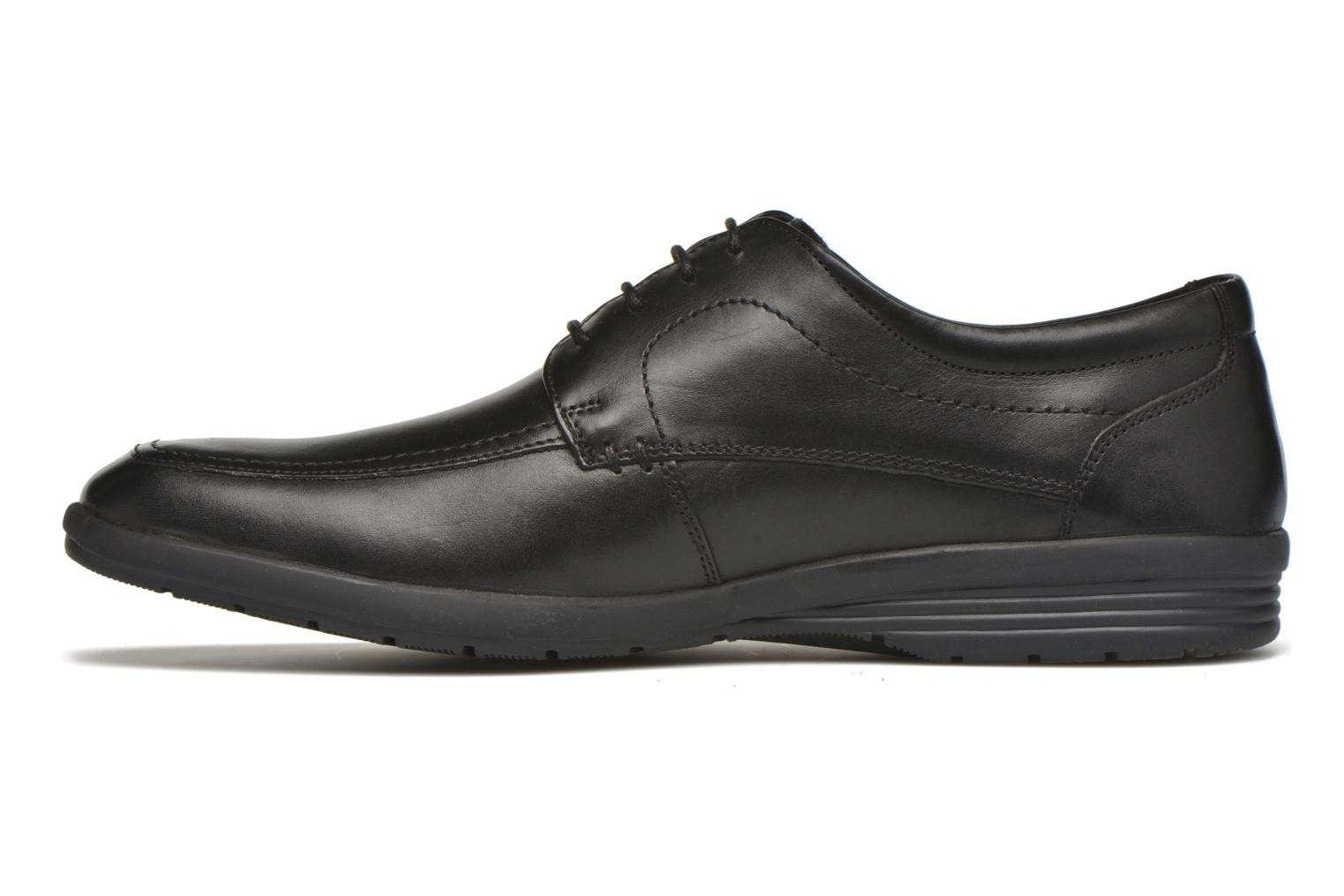 Lace-up shoes Hush Puppies Sam Black front view