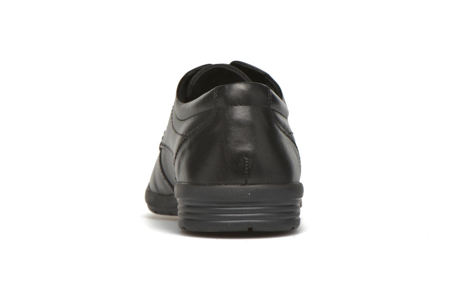Lace-up shoes Hush Puppies Sam Black view from the right