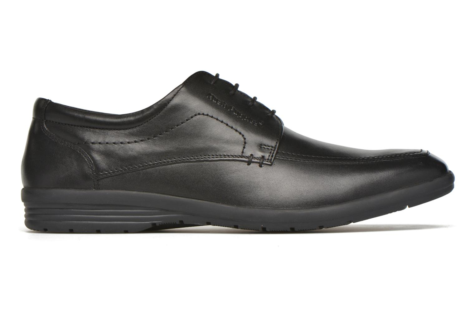 Lace-up shoes Hush Puppies Sam Black back view