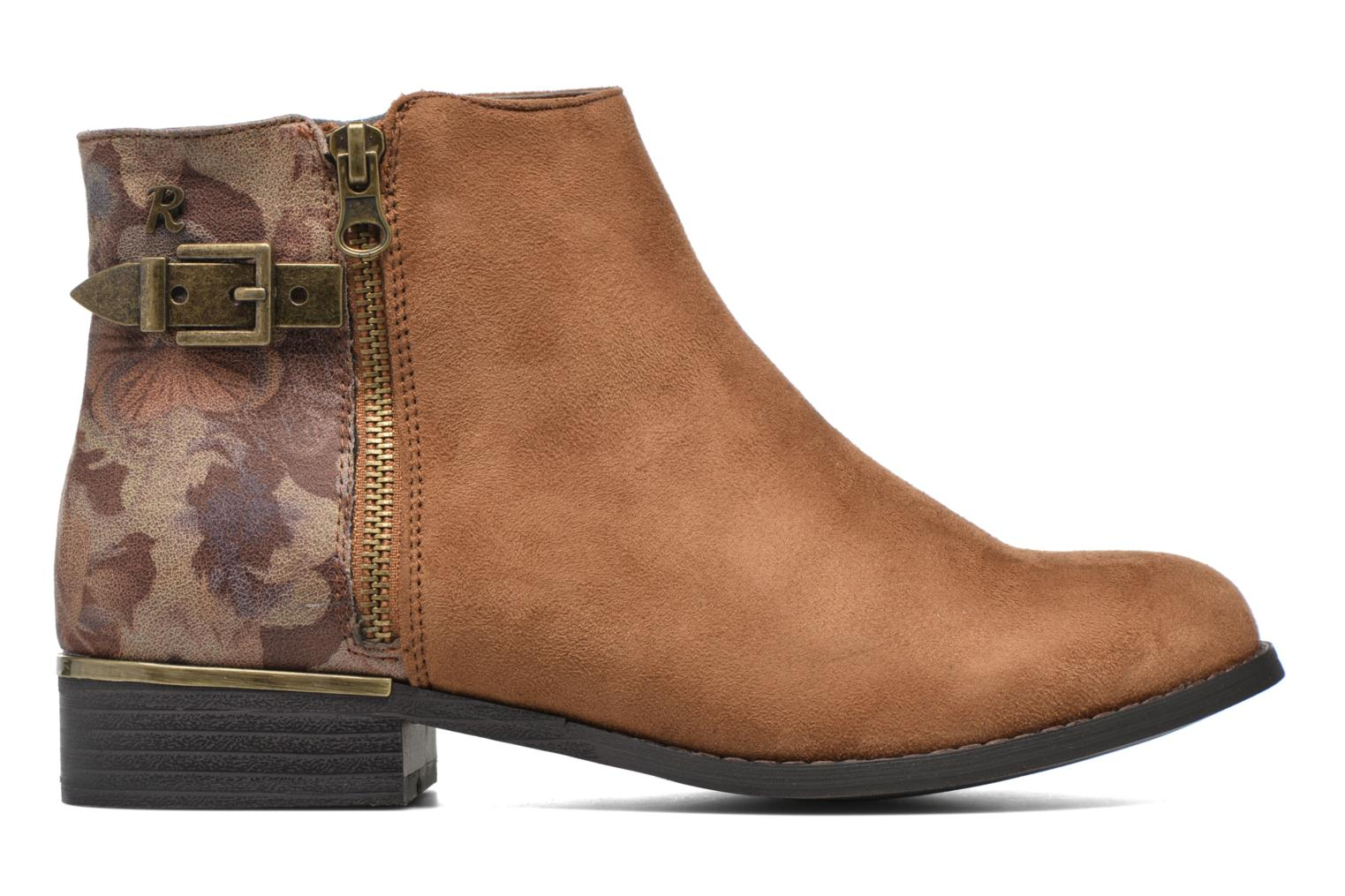 Ankle boots Refresh Marbré 62296 Brown back view