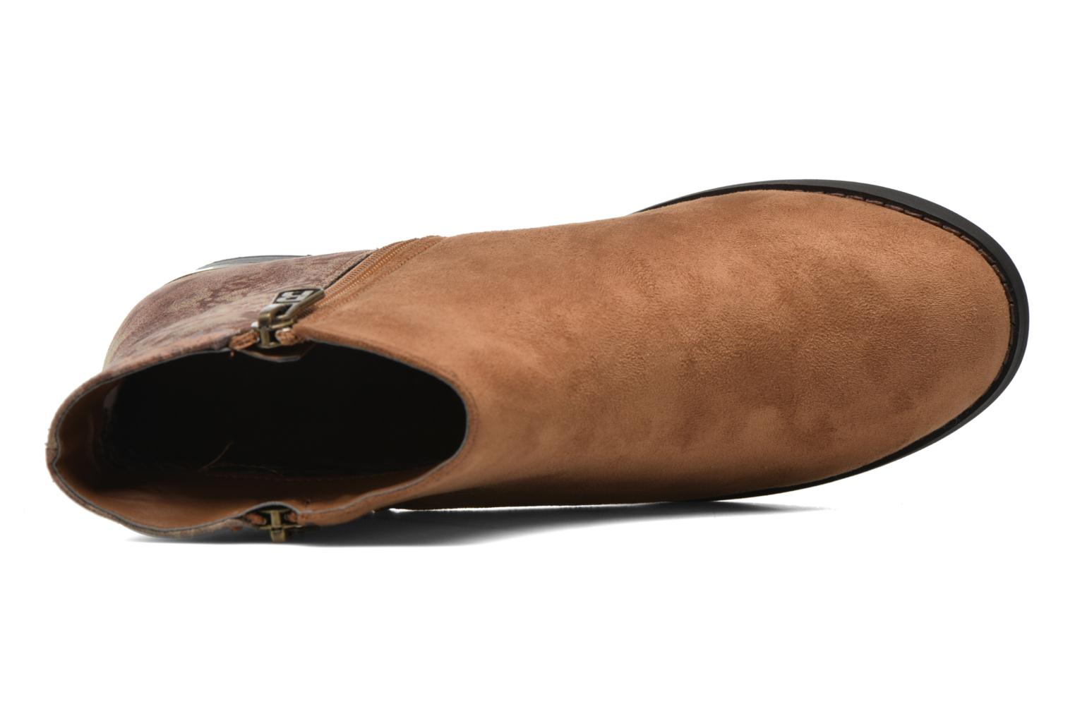 Ankle boots Refresh Marbré 62296 Brown view from the left