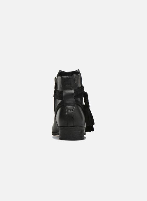 Bottines et boots Refresh Pompom 62132 Noir vue droite