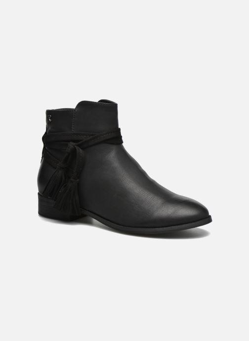 Bottines et boots Refresh Pompom 62132 Noir vue détail/paire