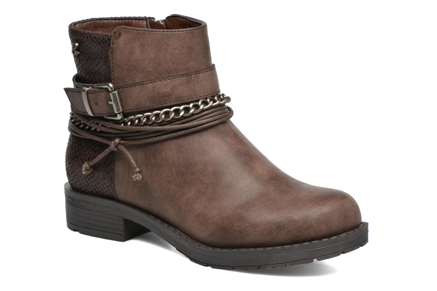 Bottines et boots Refresh Doune 62129 Marron vue détail/paire
