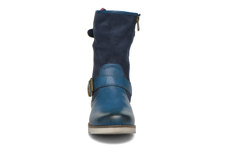 Bottines et boots Refresh Jessica 62233 Bleu vue portées chaussures