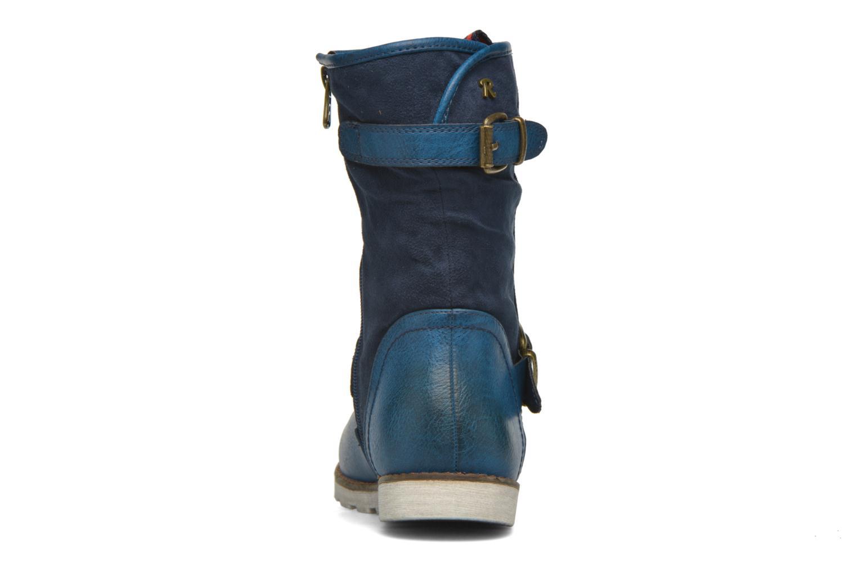 Bottines et boots Refresh Jessica 62233 Bleu vue droite