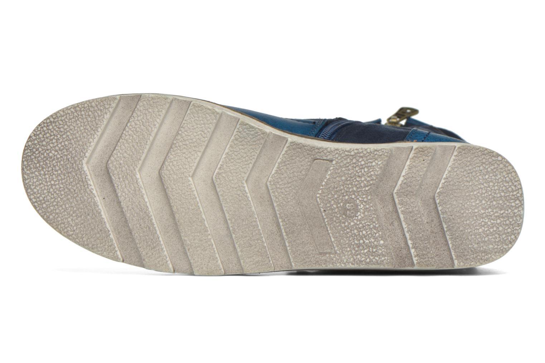 Bottines et boots Refresh Jessica 62233 Bleu vue haut