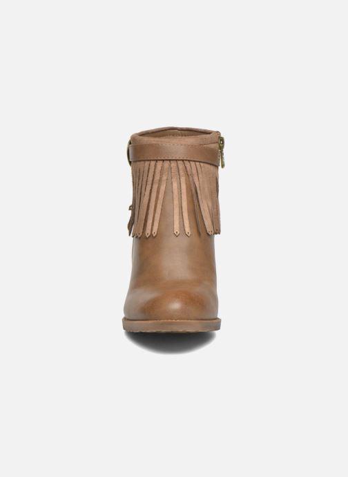 Boots en enkellaarsjes Refresh Priscilla 62231 Bruin model
