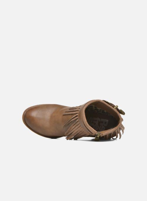 Boots en enkellaarsjes Refresh Priscilla 62231 Bruin links