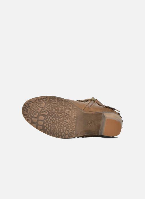 Boots en enkellaarsjes Refresh Priscilla 62231 Bruin boven