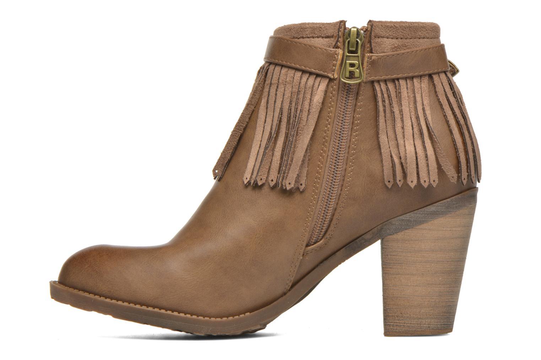 Bottines et boots Refresh Priscilla 62231 Marron vue face
