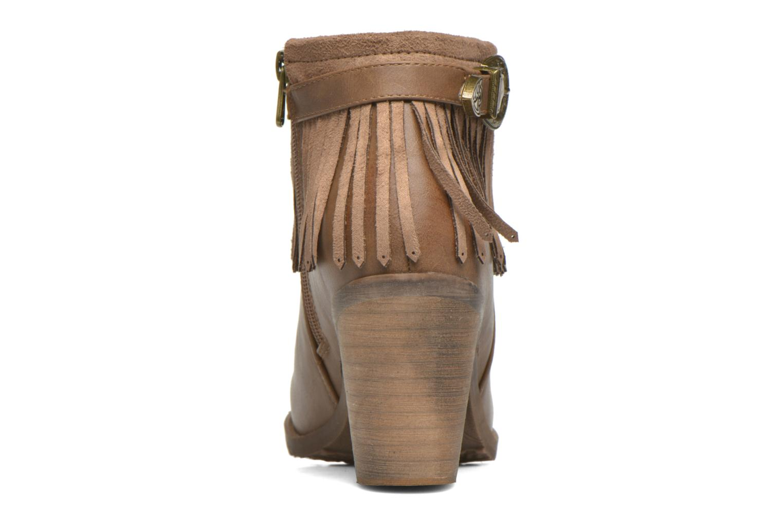 Bottines et boots Refresh Priscilla 62231 Marron vue droite
