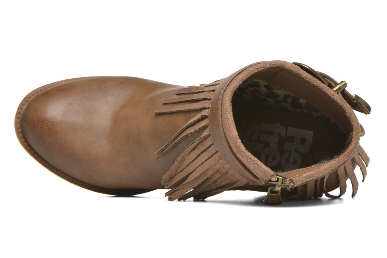 Bottines et boots Refresh Priscilla 62231 Marron vue gauche