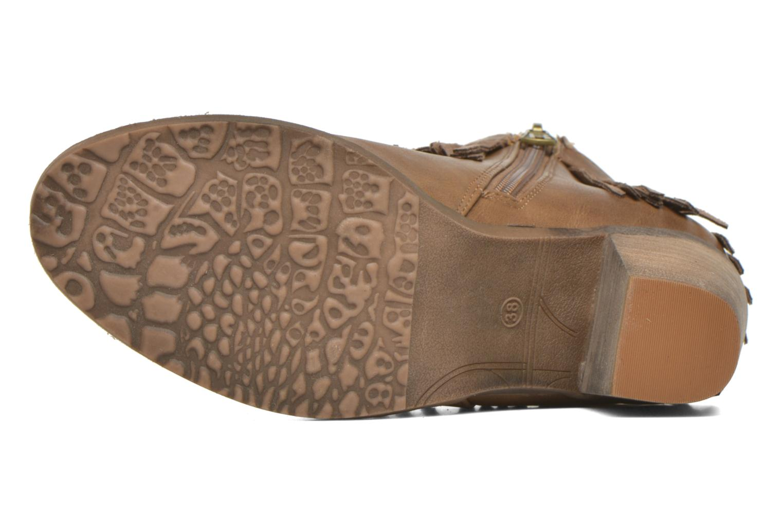Bottines et boots Refresh Priscilla 62231 Marron vue haut