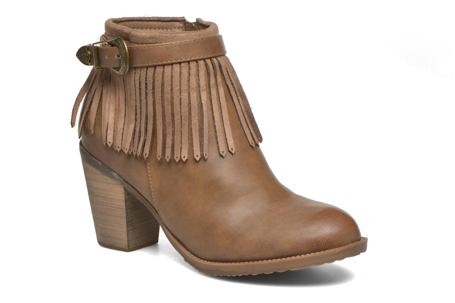 Bottines et boots Refresh Priscilla 62231 Marron vue détail/paire