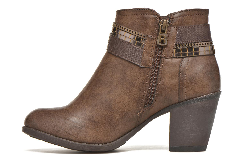 Bottines et boots Refresh Jeanne 63111 Marron vue face