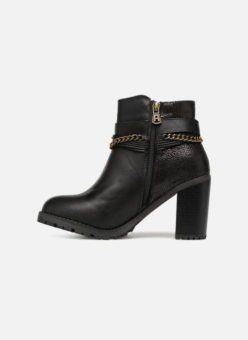 Boots en enkellaarsjes Refresh Pauline 63132 Zwart voorkant