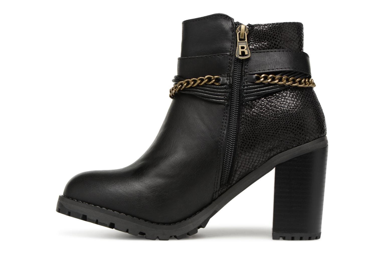 Bottines et boots Refresh Pauline 63132 Noir vue face