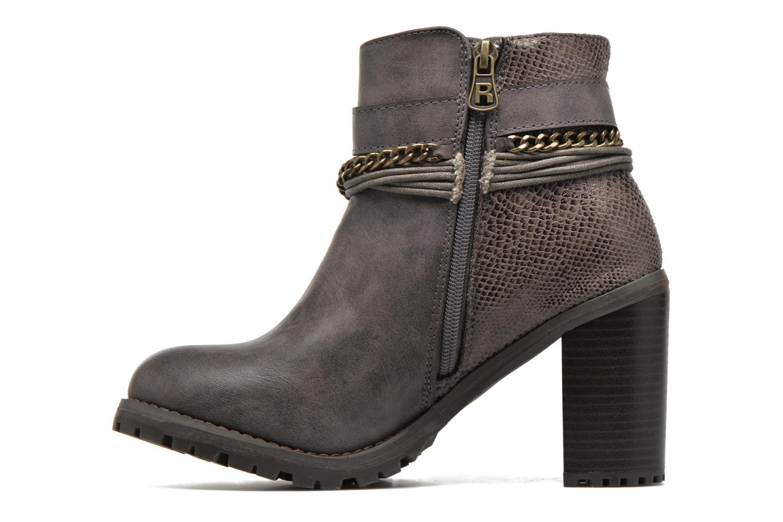 Bottines et boots Refresh Pauline 63132 Gris vue face