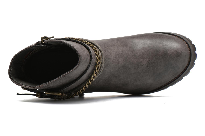 Bottines et boots Refresh Pauline 63132 Gris vue gauche