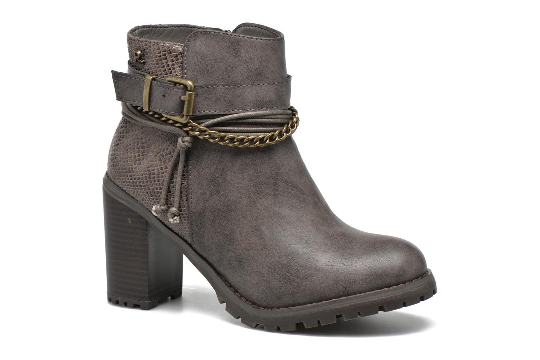 Bottines et boots Refresh Pauline 63132 Gris vue détail/paire