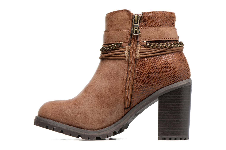 Bottines et boots Refresh Pauline 63132 Marron vue face