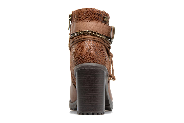 Bottines et boots Refresh Pauline 63132 Marron vue droite