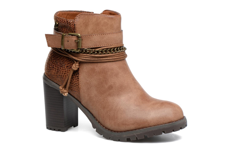 Bottines et boots Refresh Pauline 63132 Marron vue détail/paire