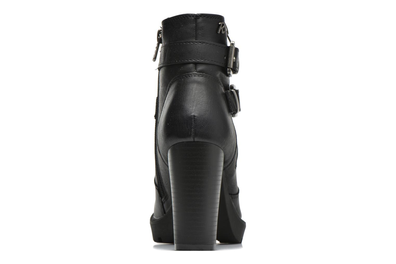 Bottines et boots Refresh Fanny 62140 Noir vue droite