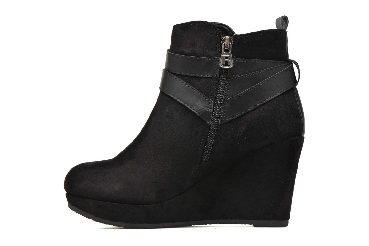 Bottines et boots Refresh Cécile 63046 Noir vue face