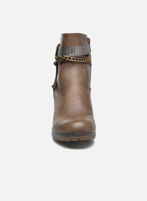 Bottines et boots Refresh Fiona 62170 Marron vue portées chaussures