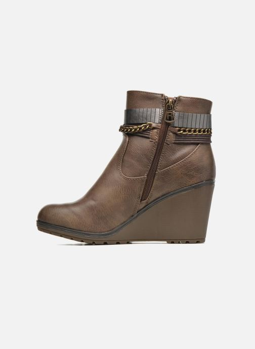 Bottines et boots Refresh Fiona 62170 Marron vue face