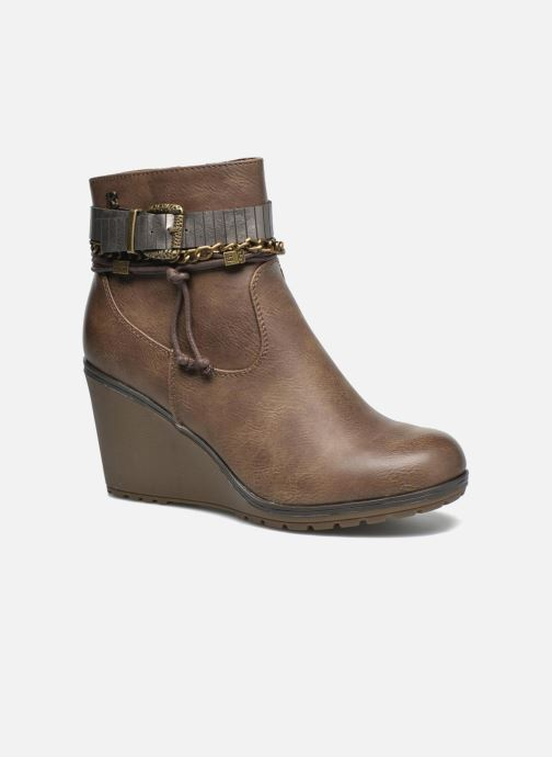 Bottines et boots Refresh Fiona 62170 Marron vue détail/paire