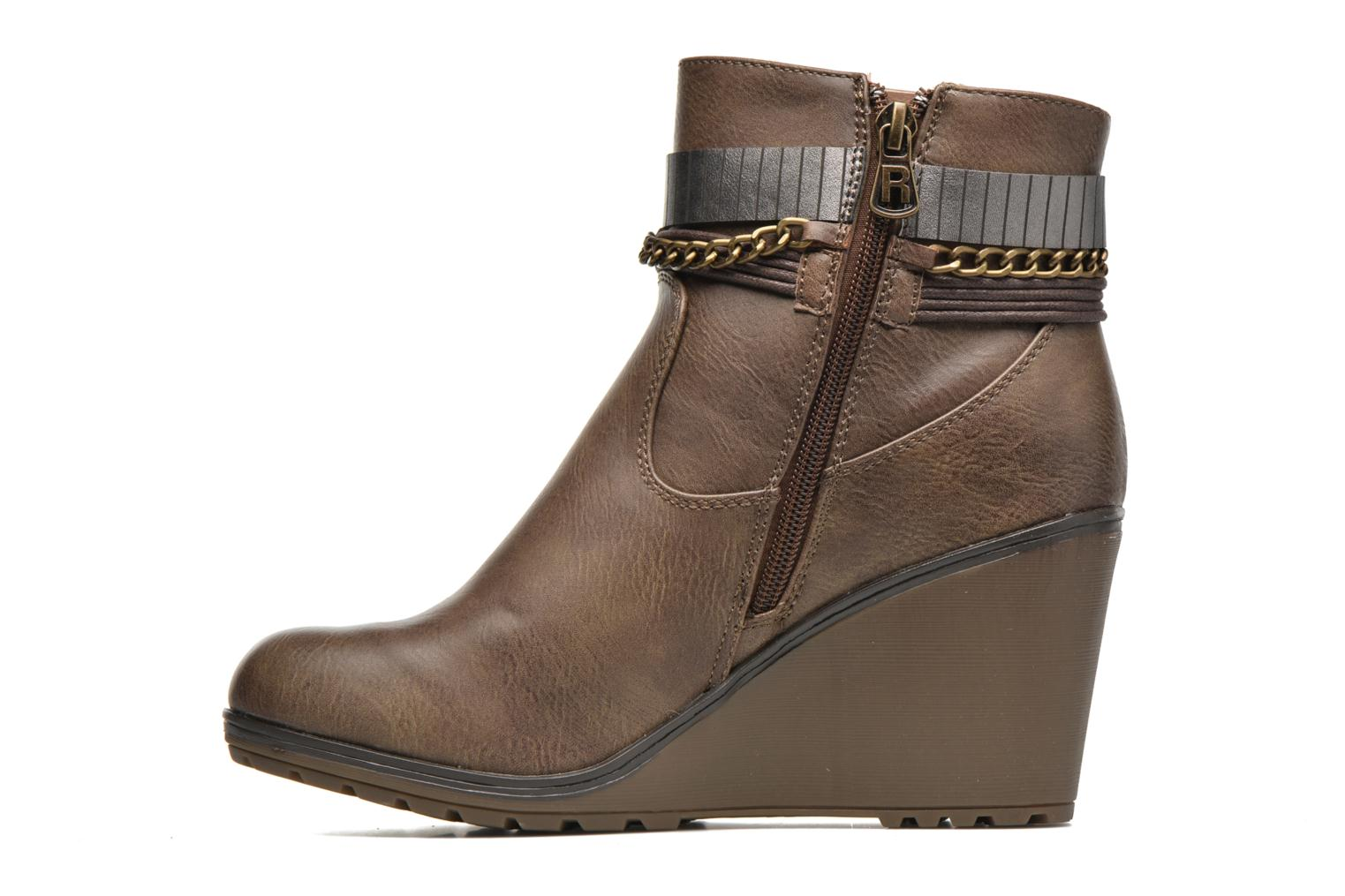 Ankle boots Refresh Fiona 62170 Brown front view