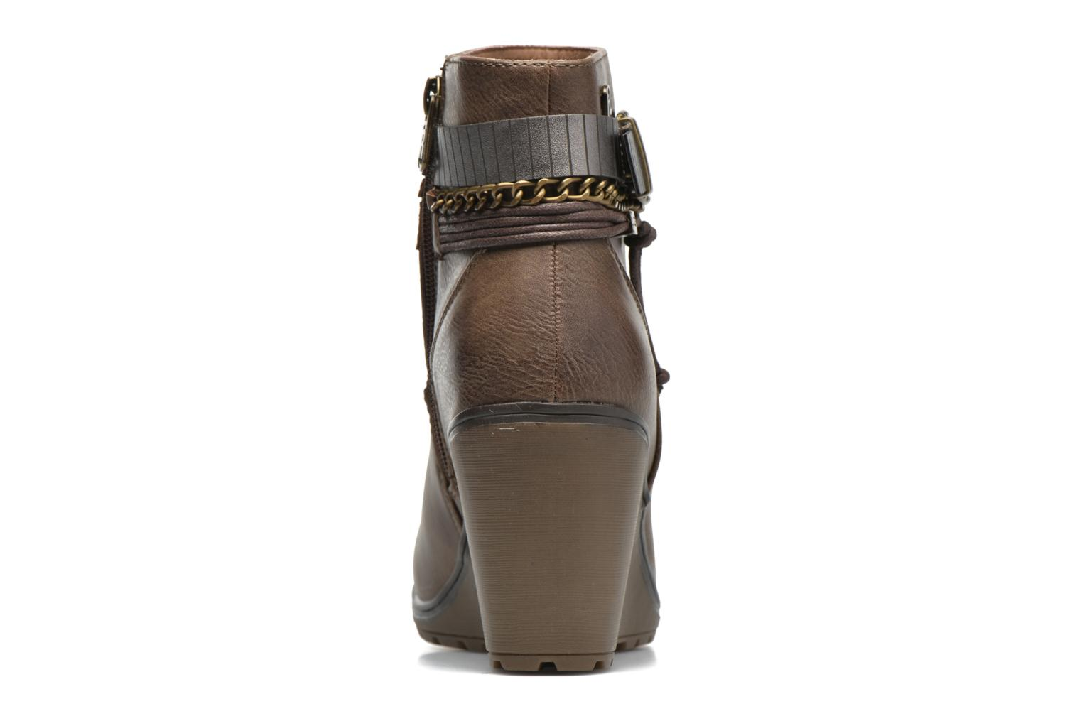 Ankle boots Refresh Fiona 62170 Brown view from the right