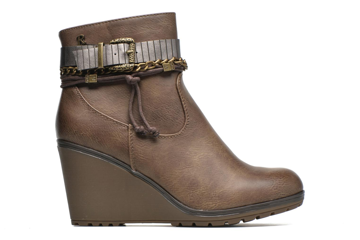 Ankle boots Refresh Fiona 62170 Brown back view