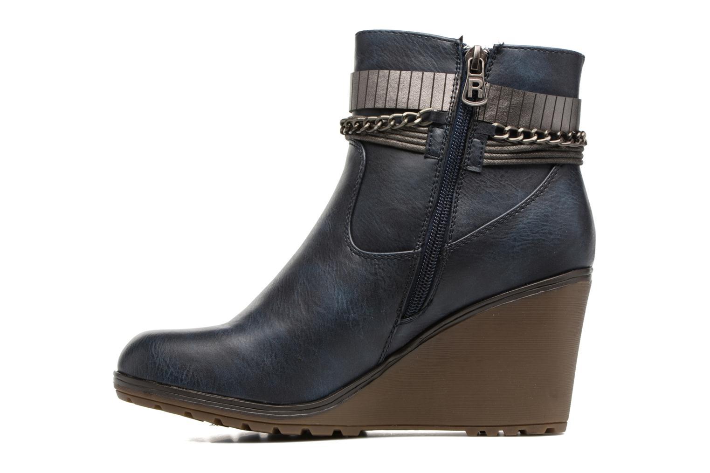 Bottines et boots Refresh Fiona 62170 Bleu vue face