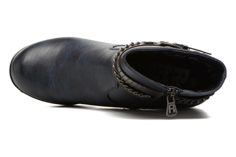 Bottines et boots Refresh Fiona 62170 Bleu vue gauche