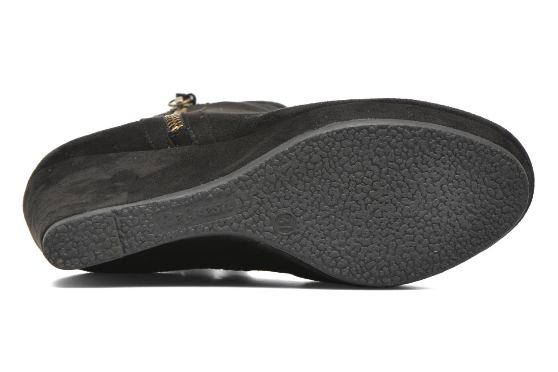 Bottines et boots Refresh Flo 62295 Noir vue haut