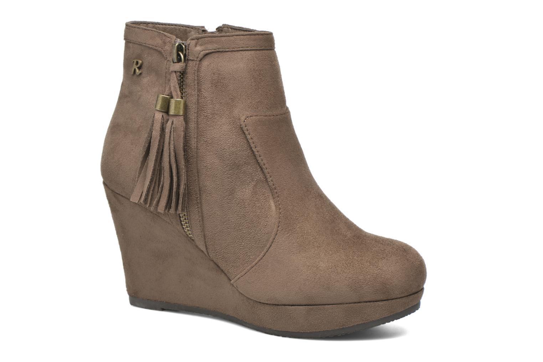 Boots en enkellaarsjes Refresh Flo 62295 Bruin detail