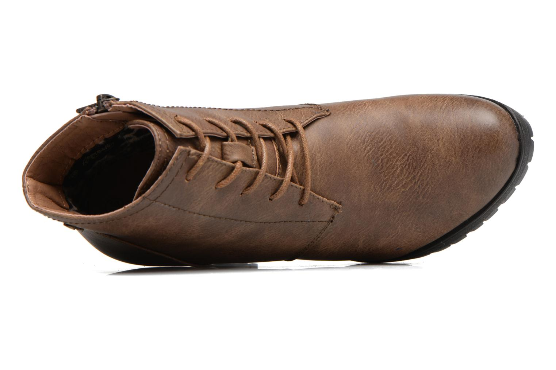 Bottines et boots Refresh Charlotte 62176 Marron vue gauche