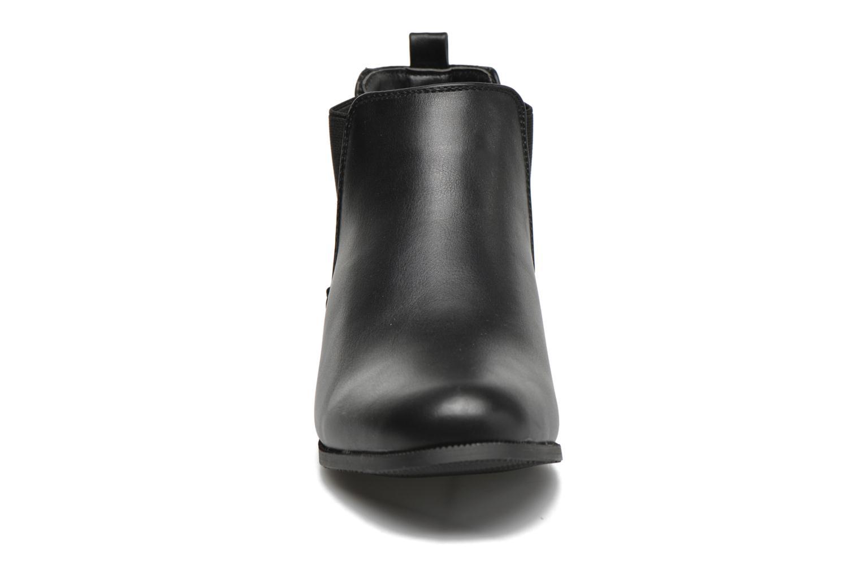 Bottines et boots Divine Factory Mailys Noir vue portées chaussures