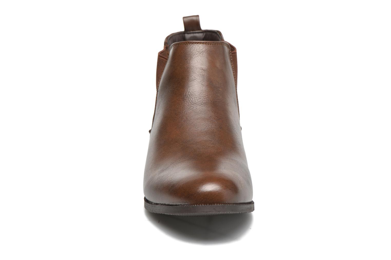 Bottines et boots Divine Factory Mailys Marron vue portées chaussures