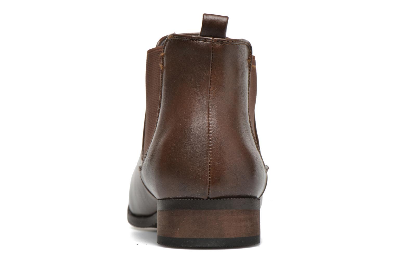 Bottines et boots Divine Factory Mailys Marron vue droite