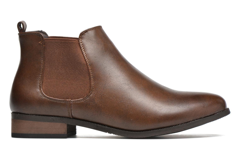 Bottines et boots Divine Factory Mailys Marron vue derrière