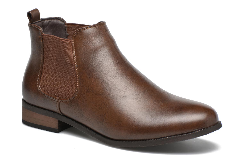Bottines et boots Divine Factory Mailys Marron vue détail/paire