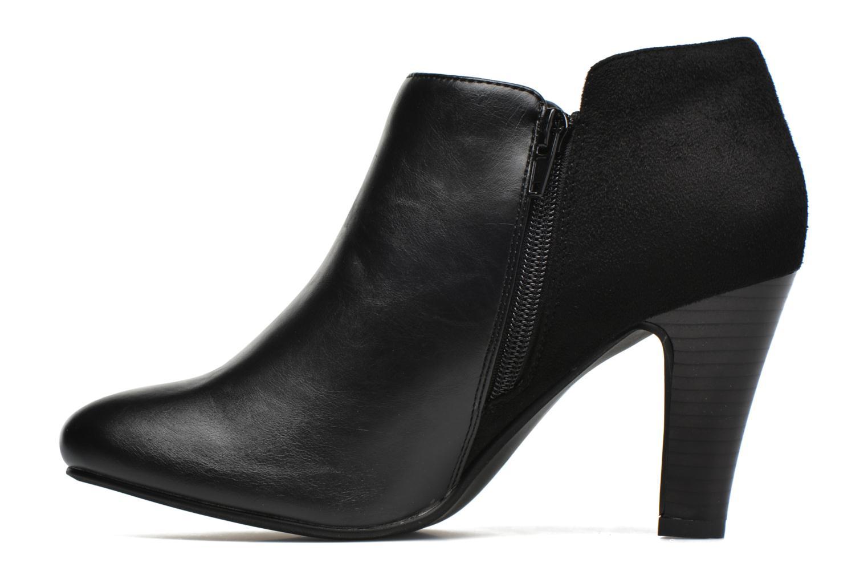 Bottines et boots Divine Factory Chloé Noir vue face