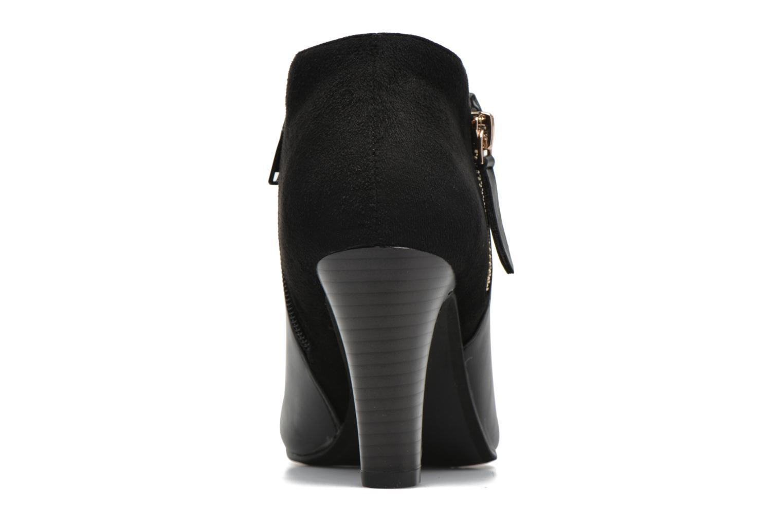 Bottines et boots Divine Factory Chloé Noir vue droite