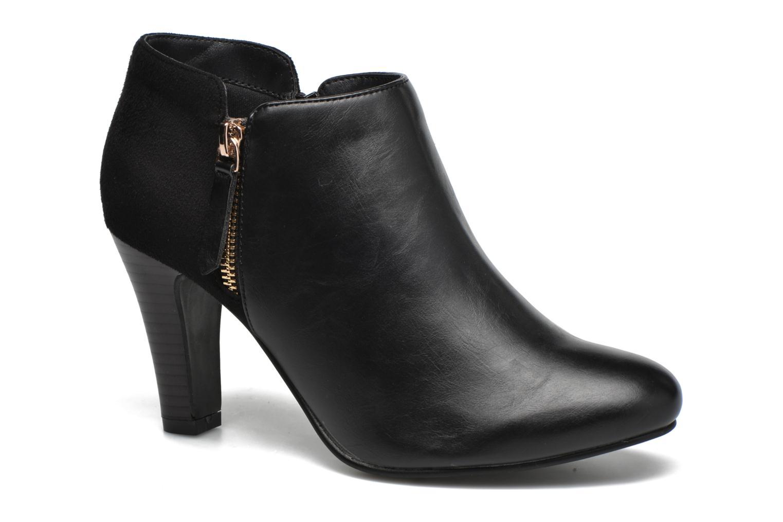 Bottines et boots Divine Factory Chloé Noir vue détail/paire